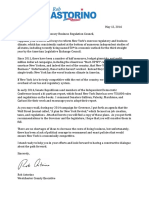 Astorino Letter to Business Regulation Council