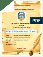 Tarea 7 Ideas Politicas de CARLOS MARX