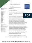 Carta de Jose Miguel Vivanco (Human Rights Watch) para Luis Almagro (Secretário-Geral da OEA)