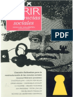 Abrir La Ciencias Sociales - Immanuel Wallerstein (Siglo XXI, 2006).pdf