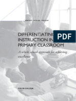 differentiating instruction in the prima