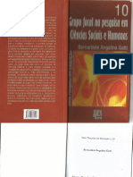 Gatti, Bernardete Angelina. Grupo Focal Na Pesquisa Em Ciência (1)