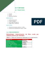 Labo Bromato- Materiales,Reactivos, Procedmiento