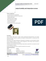 DHT21 Humidity and Thermal Sensor