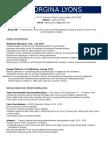 marketing resume - g lyons