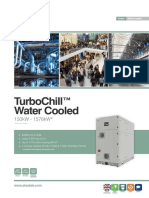 TurboChill Water Cooled Compact Chiller 150 1576kW SB UK