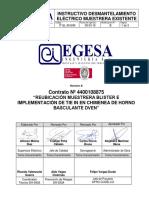 IT-EL-05-E96_Instructivo de Desmantelamiento Eléctrico Muestrera Existente