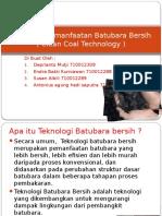 Teknologi Pemanfaatan Batubara Bersih.pptx
