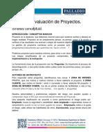 Gestión y Evaluación de Proyectos RESUMEN