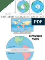 Paralelos meridianos terrestres