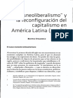 Beatriz Stolowicz - Posneoliberalismo