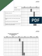 Gantt Chart Jadual