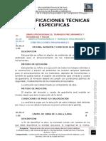 Especificaciones Tecnicas Especificas - Jr Valdizan