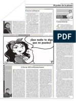 Panopticón Cultural - A Favor Del Sedentarismo (4-Mar-2016)