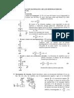 4. Representación Matemática de Los Sistemas de Control