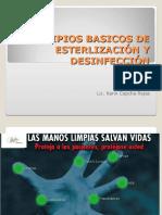 Principos Basicos de Esterilizacion y Desinfeccion 1