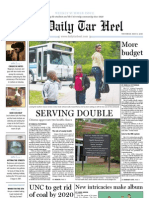 The Daily Tar Heel for May 13, 2010