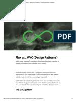 Flux vs MVC
