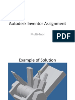 Autodesk Inventor Assignment