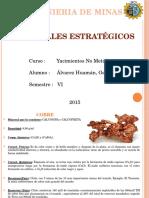 minerales estratégicos en el mundo