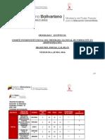 Programa Sinoptico Pnfa 2014