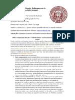 DC00215 - Fundamentos Do Direito Da Empresa e Da Atividade Negocial - Prof. Vinicius Marques de Carvalho - Vera Lorza (186-24) [Versão 1.9 - Para a Segunda Prova] (1)