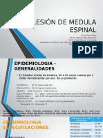 Lesión de Medula Espinal