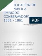 Organización Nacional 1831 - 1861 Sexto