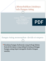 Faktor Yang Menyebabkan Jatuhnya Nusantara Pada Bangsa Asing
