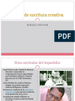 Proyecto de Presentacic3b3n Taller de Escritura Creativa