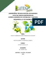 Ensayo Biocombustibles