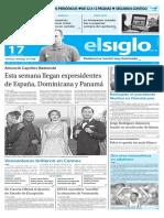Edición Impresa El Siglo 17-05-2016