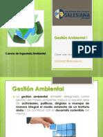 1. Gestión Ambiental I - Problematica Ambiental Empresas