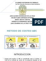 Metodo ABC de Costeo 2016