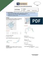 Solucionario 2015 - II Examen de Diagnóstico Mecánica Vectorial