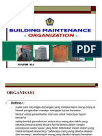 56231068 Organisasi Pemeliharaan Bangunan