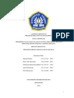 Laporan Kemajuan PKM-M PIMNAS 28
