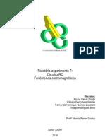 Relatório_Exp7_Circuito RC_Fenômenos Eletromagnéticos_Trim2.1