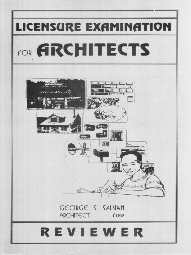c4b8b956 Salvan, George - Licensure Examination for Architects Reviewer | Pulpit |  Vault (Architecture)