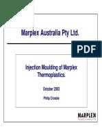 Marplex - Injection Moulding of Thermoplastics