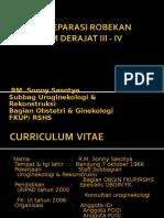 3. Dr. Sonny (Teknik Reparasi Robekan Perineum Derajat III - IV)
