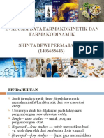 Evaluasi Data Farmakokinetik