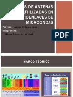 Tipos de Antenas Utilizadas en Radioenlaces Para Microondas