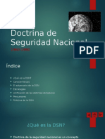 Doctrina de Seguridad Nacional.