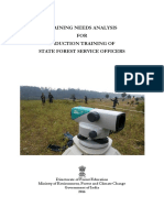 Training Needs Analysis of State Forest Service