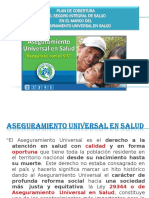 2. Aseguramiento Universal