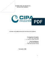 Informe Centro Costarricense Produccion MasLimpia EscuelaQuimicaucr2006