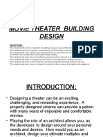 Movie Theater Building Design