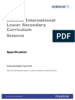 Lower Secondary Spec