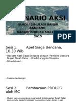 Skenario Gladi Posko (TTX) dan Simulasi Penanganan (FTX) Bencana Banjir Bandang